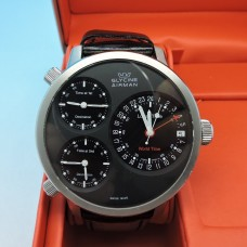 Glycine Airman World Time