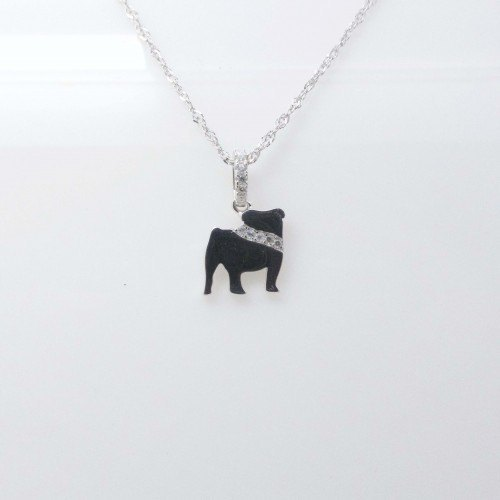 Collar Plata Bulldog