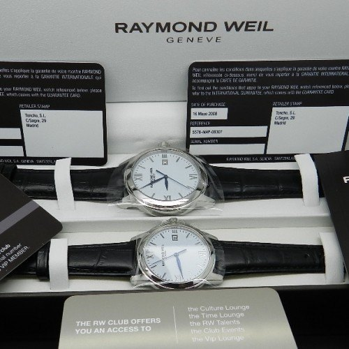 RAYMOND WEIL TRADITION SET